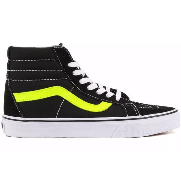 Vans Shoes   Vans Sk8 Hi Reissue Neon